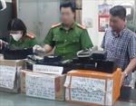 Cảnh sát biển phối hợp bắt giữ đường dây vận chuyển 54 bánh heroin