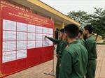 Lập danh sách cử tri ở những đơn vị thuộc lực lượng vũ trang như thế nào?
