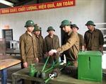 Người chiến sĩ lái xe tăng có nhiều sáng kiến cải tiến kỹ thuật