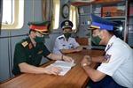 Bộ Tổng Tham mưu kiểm tra tại Bộ Tư lệnh Vùng Cảnh sát biển 1