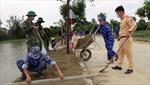 BTL Vùng Cảnh sát biển 1 giúp nhân dân Hà Tĩnh xây dựng nông thôn mới nâng cao