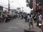 Xe rác va chạm xe máy,  2 người tử vong