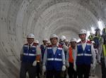 Chủ tịch UBND TP Hồ Chí Minh trực tiếp kiểm tra tuyến metro số 1 (Bến Thành- Suối Tiên)