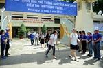 Trên 71.000 thí sinh tại TP Hồ Chí Minh đã kết thúc bài thi môn ngữ văn