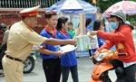 TP Hồ Chí Minh: CSGT ra quân đảm bảo an ninh trật tự kỳ thi tốt nghiệp THPT