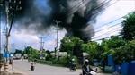 Cháy lớn tại công ty phế liệu
