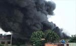 Cháy lớn tại công ty hóa chất tại quận Bình Tân