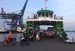 TP Hồ Chí Minh dừng hoạt động phà Cát Lái từ 22 giờ ngày 1/4