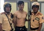 CSGT bắt nóng đối tượng 'đá xế' ở TP Hồ Chí Minh