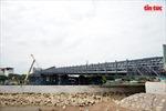 Gặp sự cố sà lan đâm,cầu thép 80 tỷ ở TP Hồ Chí Minh bị trễ hẹn 2 tháng