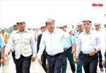 Phó Thủ tướng Trương Hòa Bình kiểm tra Dự án cải tạo nâng cấp đường cất hạ cánh, đường lăn sân bay Tân Sơn Nhất