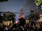 Cháy lớn tại công ty giày ở quận Bình Tân