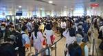 Ùn ứ tại khu vực soi chiếu an ninh của sân bay Tân Sơn Nhất là do hệ thống quá tải