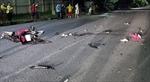 Hai xe máy đối đầu trong đêm, 4 người thương vong