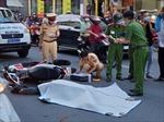 Lao vào đuôi ô tô, người đàn ông đi xe máy tử vong tại chỗ