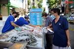 Chợ lưu động đầu tiên áp dụng 'Thẻ xanh COVID-19'ở Thành phố Hồ Chí Minh