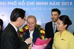 TP Hồ Chí Minh đón vị khách quốc tế thứ 7 triệu