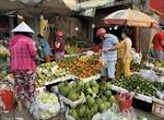 Một số siêu thị và chợ đã hoạt động phục vụ người dân