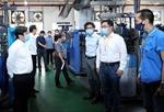 Lãnh đạo TP Hồ Chí Minh kiểm tra công tác phòng dịch tại các khu vực có đông công nhân