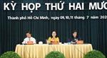 Khai mạc kỳ họp thứ 20 HĐND TP Hồ Chí Minh khóa IX