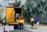 TP Hồ Chí Minh tiếp tục các biện pháp phòng dịch trong lĩnh vực giao thông vận tải