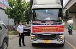 Hướng dẫn tổ chức phương tiện vận chuyển hàng hóa mau hỏng khi ra, vào TP Hồ Chí Minh