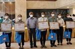 TP Hồ Chí Minh đón các tình nguyện viên tôn giáo chống dịch COVID-19 trở về