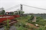 Thái Nguyên cấp báchhoàn thiện hệ thống chống lũ hai bên bờ sông Cầu