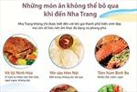 Những món ăn không thể bỏ qua khi đến Nha Trang