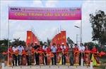 Khánh thành 10 cây cầu dân sinh trên địa bàn biên giới