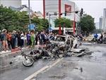 Xác định danh tính nữ lái xe Mercedes gây tai nạn thảm khốc ở Cầu Giấy