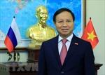 Họp báo kỷ niệm 70 năm quan hệ ngoại giao Việt Nam - LB Nga