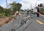 Liên tiếp xảy ra sụt lún nghiêm trọng tại Cà Mau