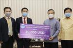 Doanh nghiệp Việt Nam chung tay cùng Chính phủ và nhân dân Lào chống dịch COVID-19