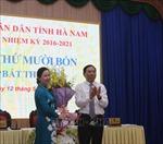 Thủ tướng phê chuẩn Phó Chủ tịch UBND tỉnh Hà Nam