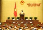 Thông cáo báo chí số 06, Kỳ họp thứ 9, Quốc hội khóa XIV