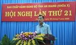 An Giang tập trung chỉ đạo tổ chức thành công Đại hội đảng bộ cấp huyện
