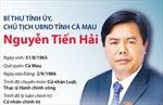Bí thư Tỉnh ủy, Chủ tịch UBND tỉnh Cà Mau Nguyễn Tiến Hải