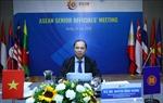 Cuộc họp trực tuyến các quan chức cấp cao ASEAN