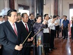 Chủ tịch Quốc hội dự Lễ kỷ niệm 110 năm ngày sinh đồng chí Nguyễn Hữu Thọ