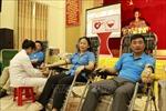 450 công nhân, viên chức Yên Bái tham dự ngày hội hiến máu tình nguyện