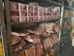 Phát hiện hơn 19 tấn thịt đông lạnh quá hạn sử dụng