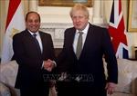 Lãnh đạo Ai Cập, Anh điện đàm về một loạt vấn đề khu vực