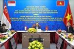 Hội nghị trực tuyến cấp Bộ trưởng về An ninh mạng giữa Việt Nam và Singapore