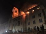 Cháy lớn tại trường đại học danh tiếng nhất ở Uganda, nhiều tài sản bị thiêu rụi