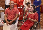 'Giấc mơ có thật' dành cho trên 60 cặp đôi khuyết tật