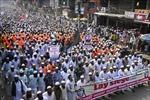 Hàng chục nghìn người Hồi giáo biểu tình phản đối Pháp tại nhiều nước trên thế giới