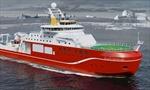 Tàu nghiên cứu địa cực tiên tiến nhất của Anh bắt đầu thử nghiệm trên biển