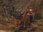 Nỗ lực khắc phục hậu quả bão lũ và tìm kiếm người còn mất tích ở Quảng Nam