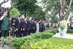 Lãnh đạo TP Hồ Chí Minh dâng hương tưởng niệm nguyên Chủ tịch nước Lê Đức Anh